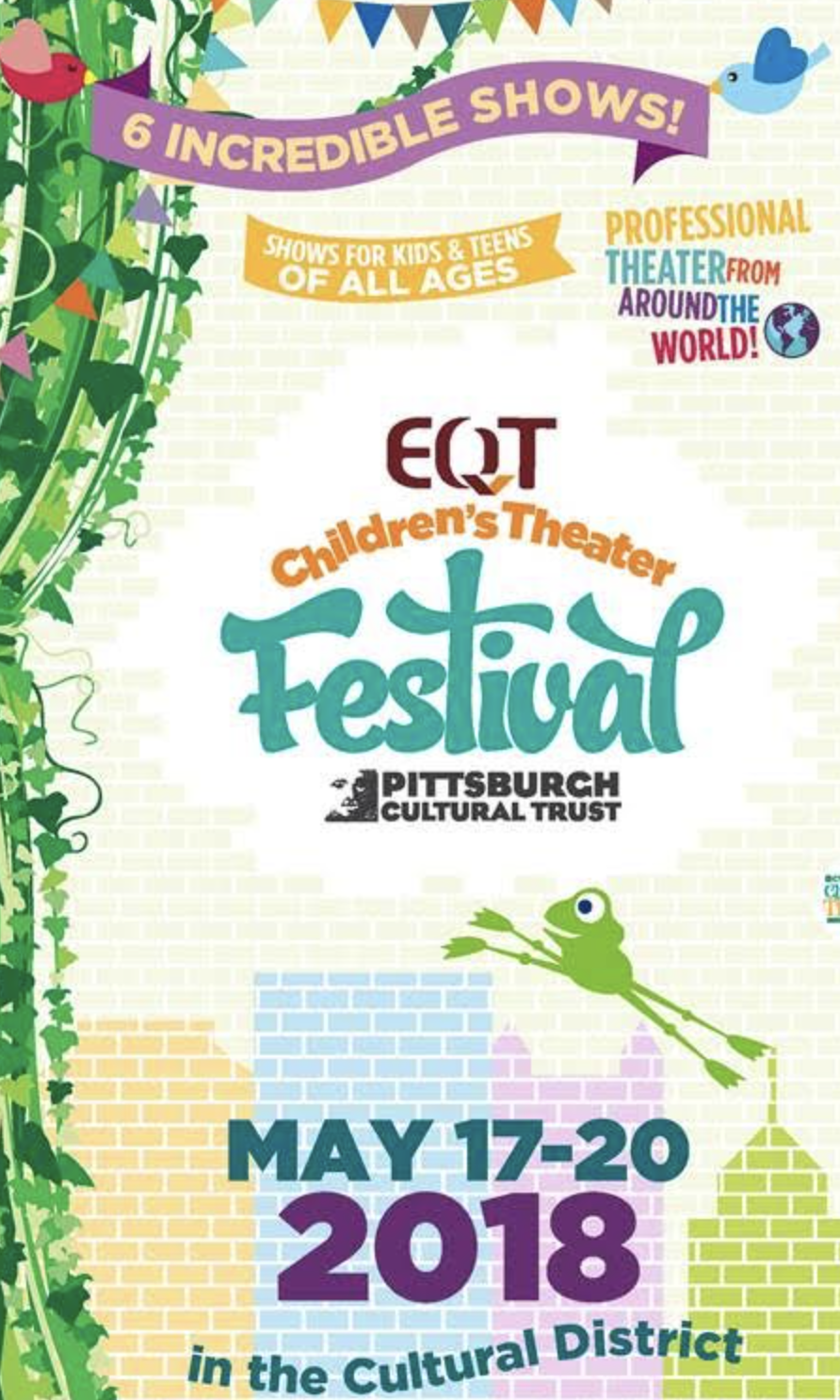 EQT Children's Theater Festival Flyer