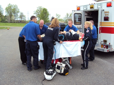 Photo Of EMT Training Cleveland, Ohio - Cuyahoga Valley Career Center