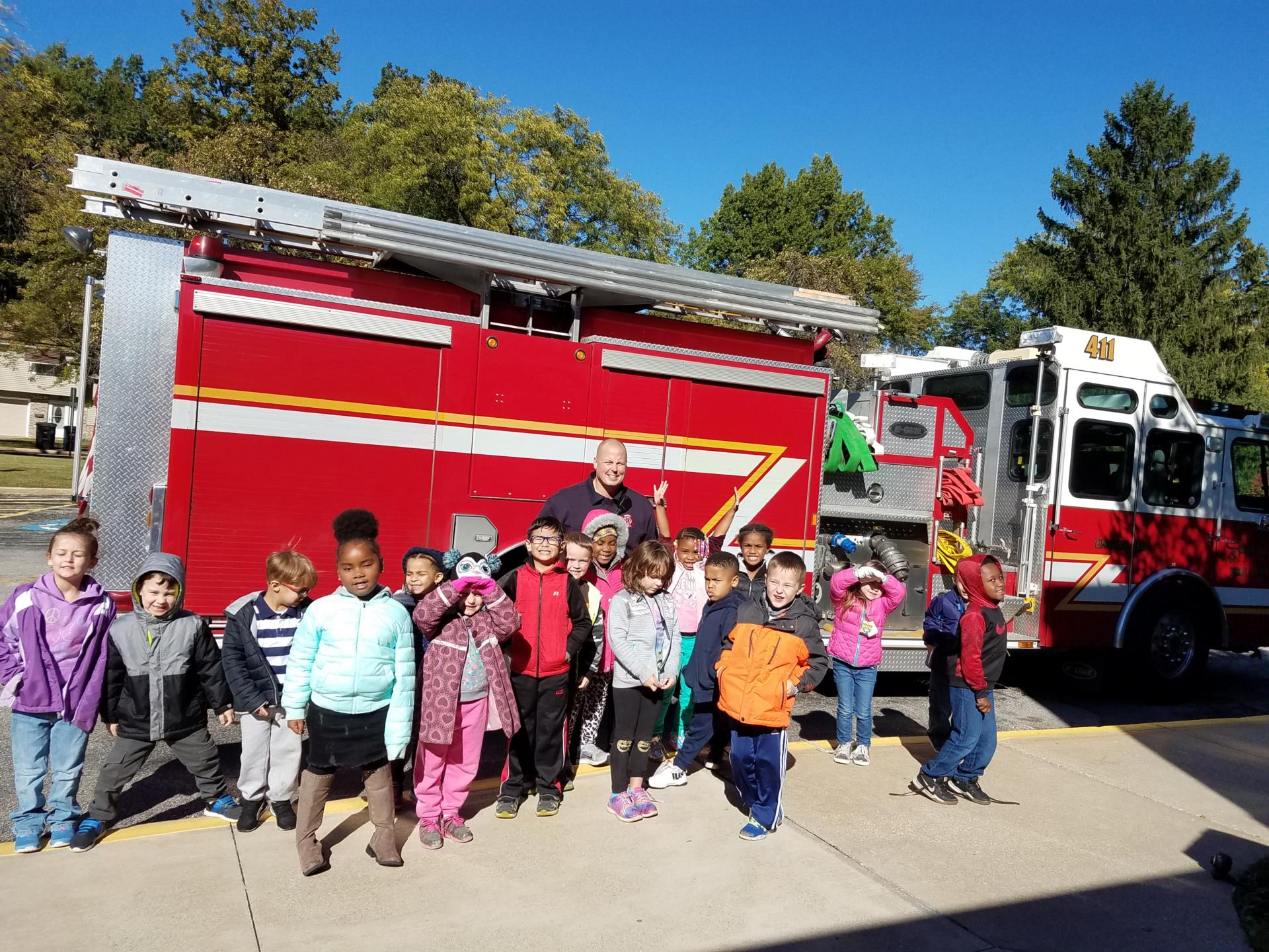 Fire Safety Day at Sunview
