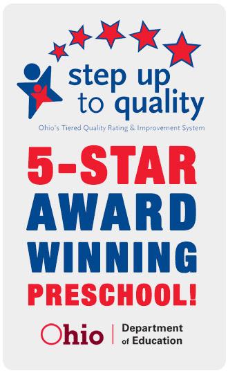 5-star award winning preschool