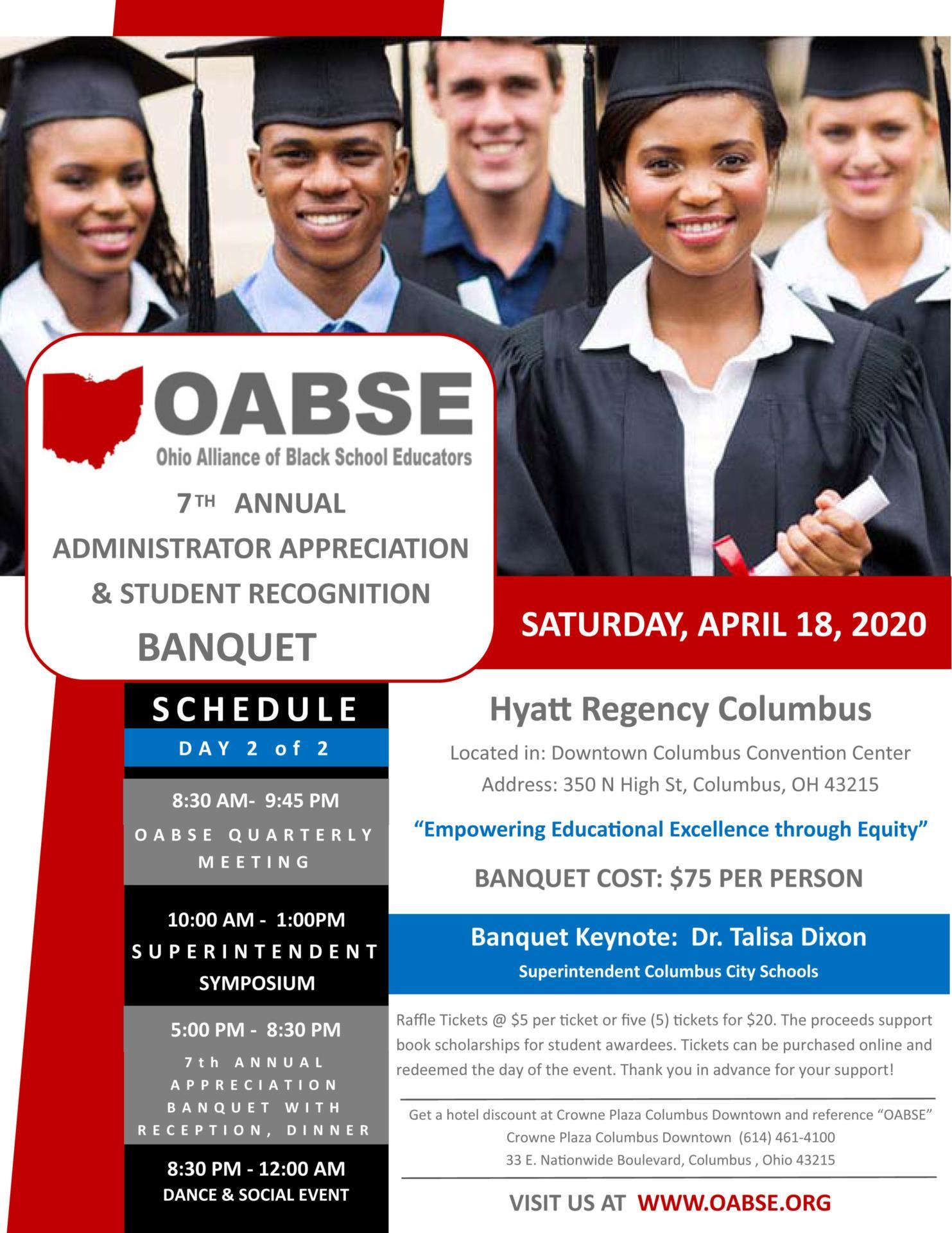 OABSE Banquet