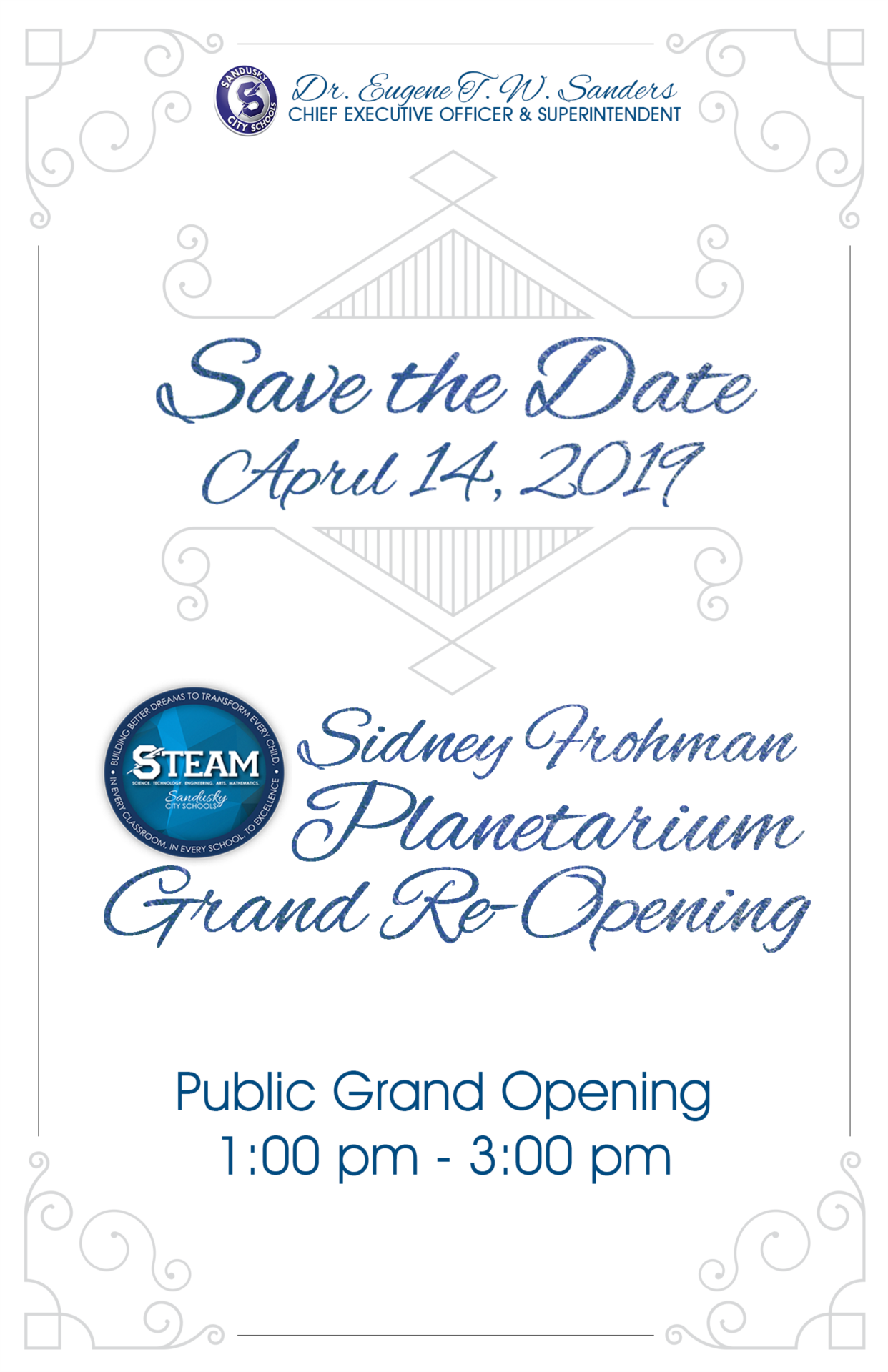 Sidney Frohman Save the Date
