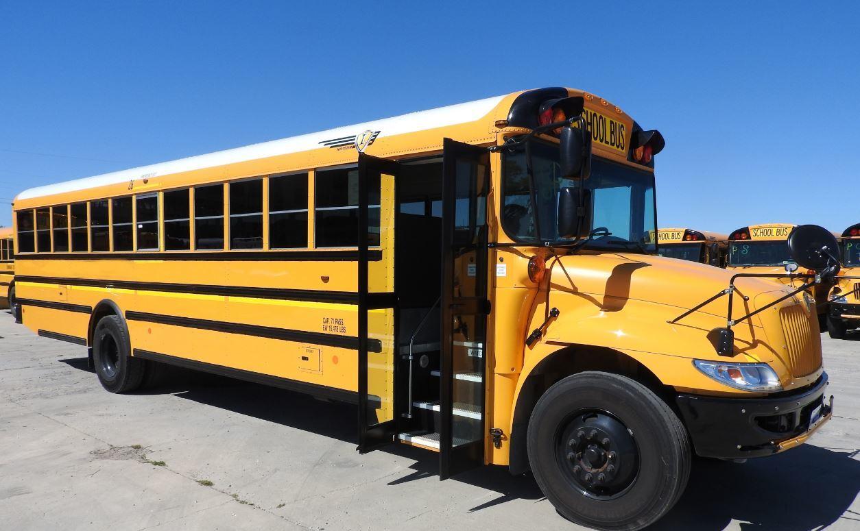 Plum Borough School District transportation bus
