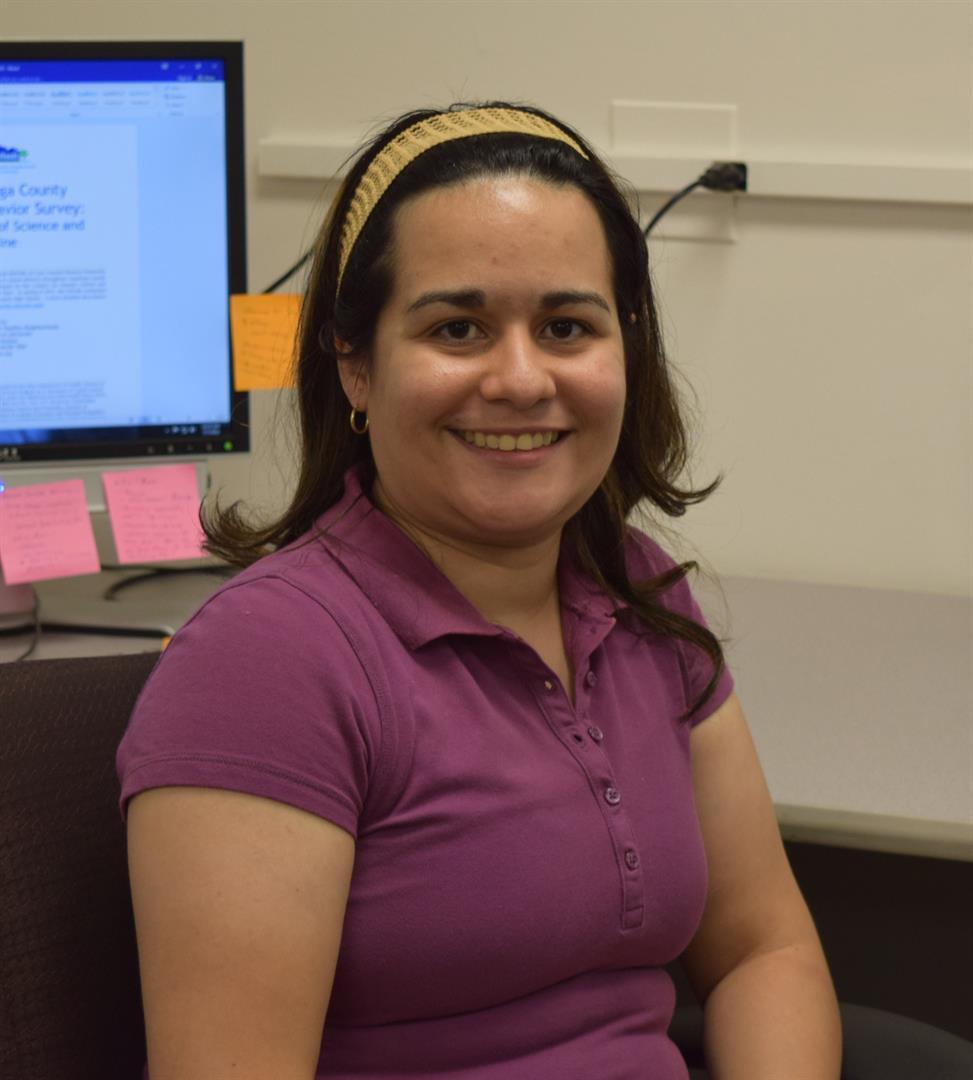 PRCHN intern Annette Rodriguez Carreras