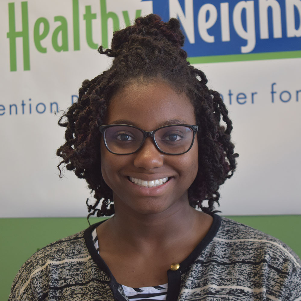 PRCHN Intern Jahci Richardson