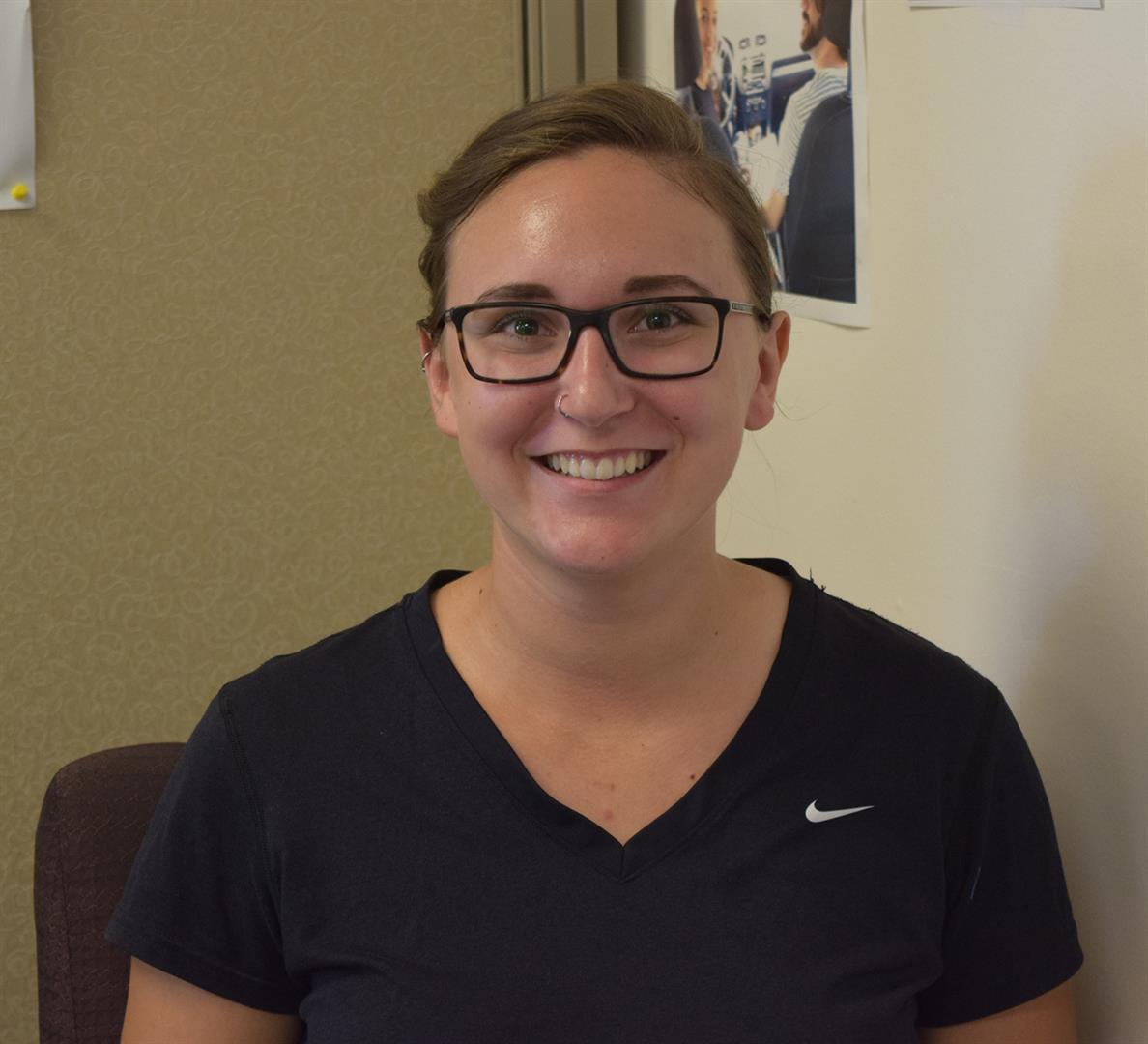 PRCHN intern Jennifer Roberts