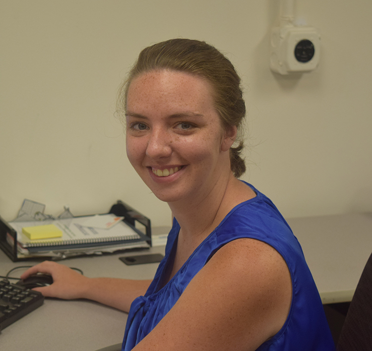 Graduate Assistant Emily Jennings