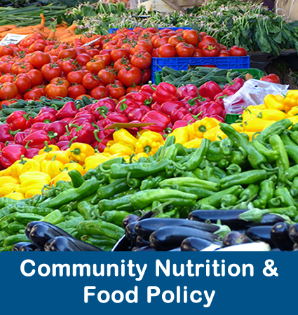 Community Nutrition & Food Policy