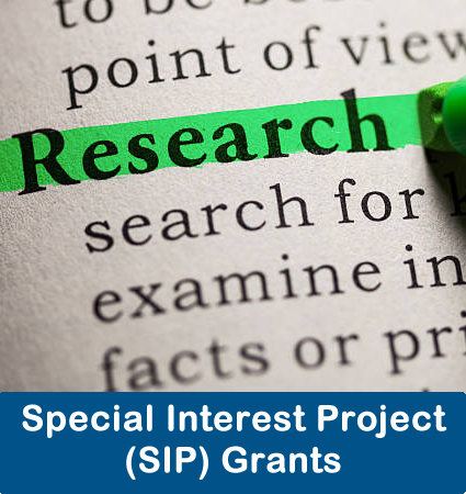 Special Interest Project (SIP) Grants
