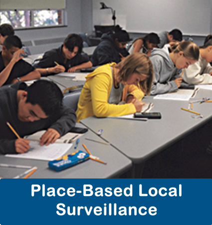Place-based local surveillance