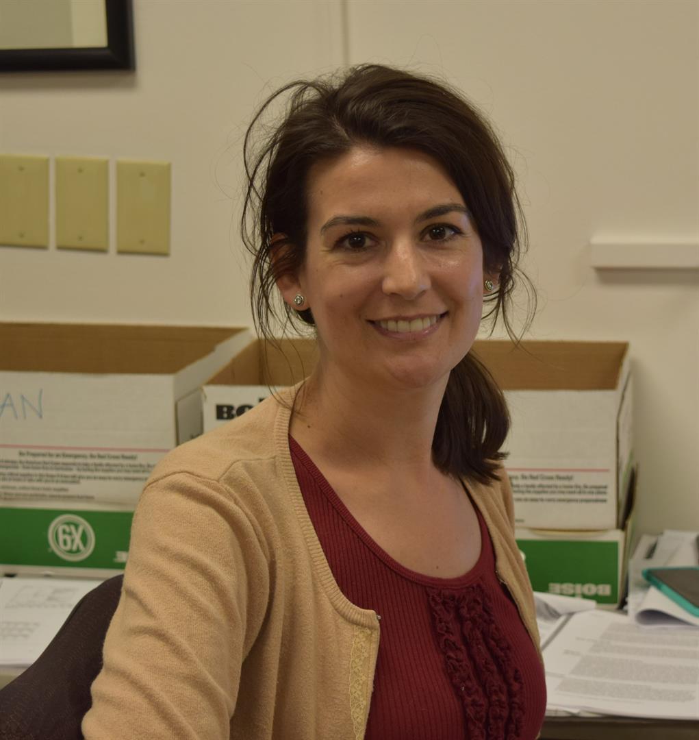 Graduate Student Marisa Hollinshead