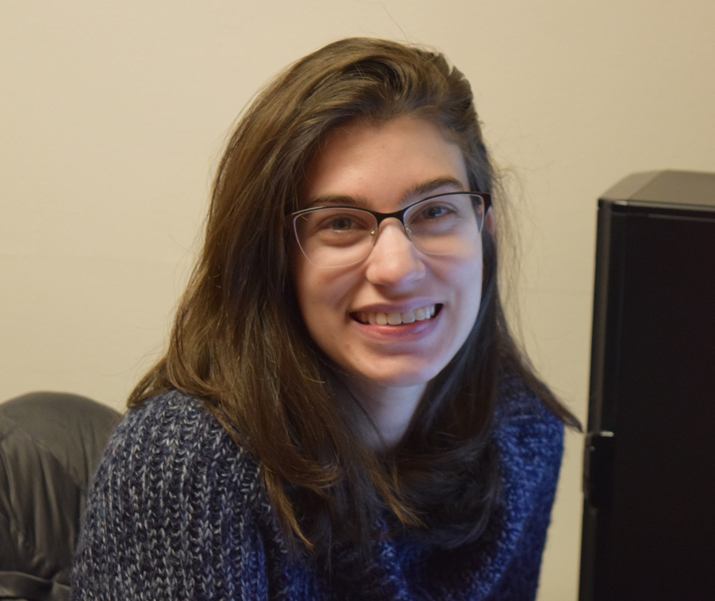 Graduate Assistant Natalie Fishlin