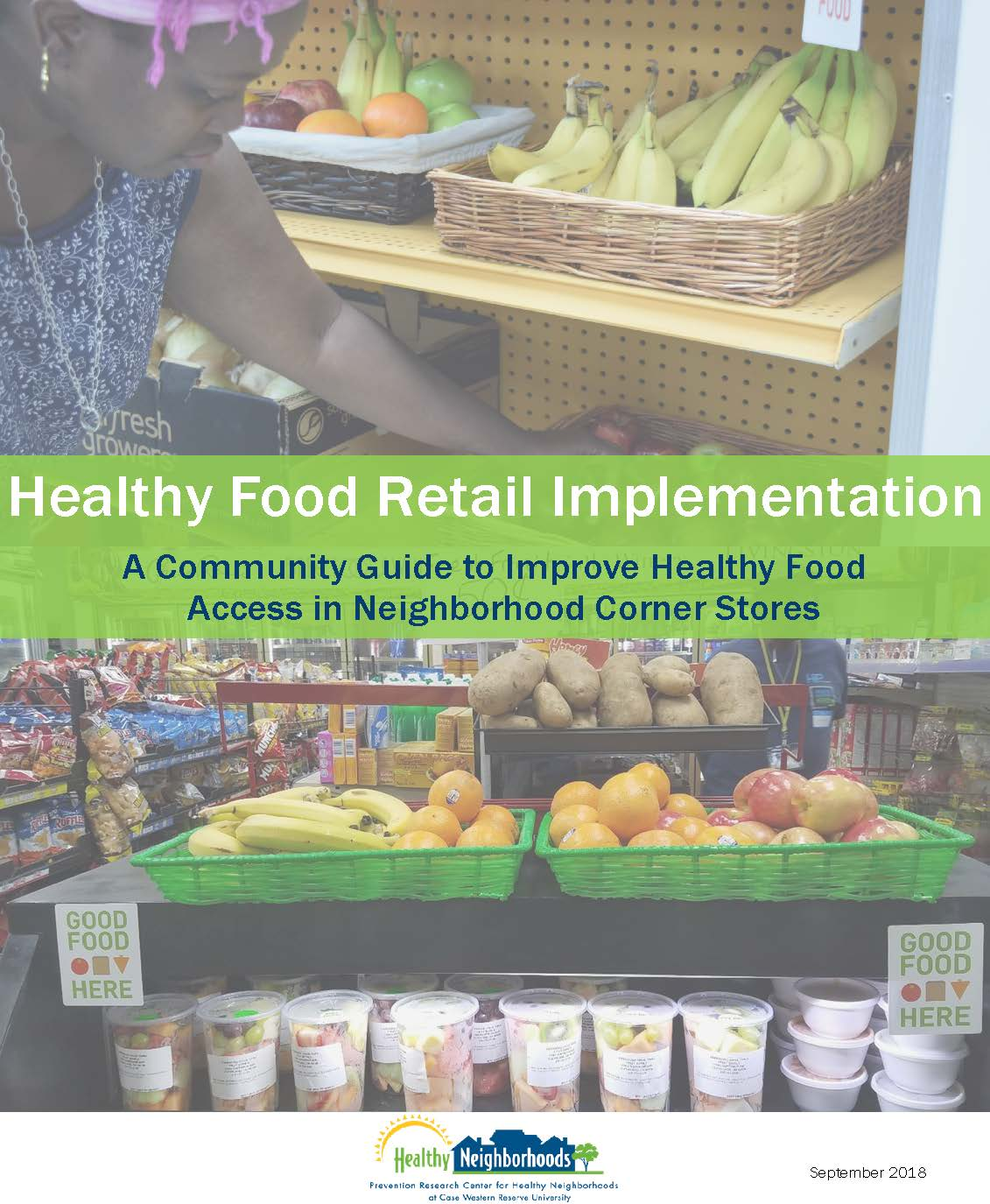Healthy Food Retail Implementation Guide cover