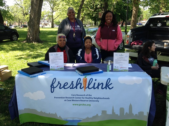 PRCHN FreshLink staff in the field,
