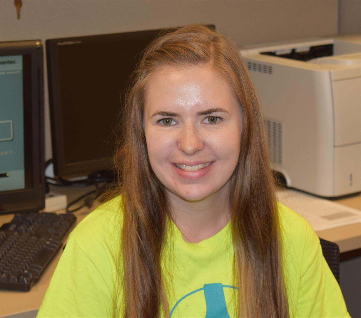 PRCHN intern Wendy Hauger