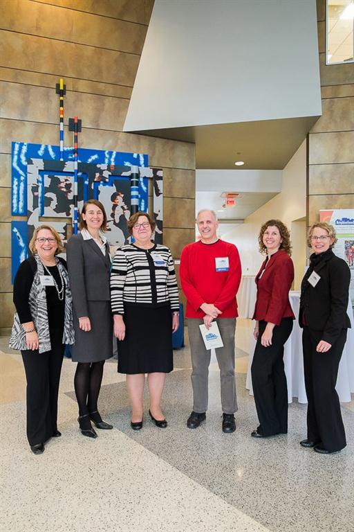 Dr. Borawski, Dr. Flocke, Dean Davis, Dr. Haines, Dr. Trapl, and Dr. Freedman