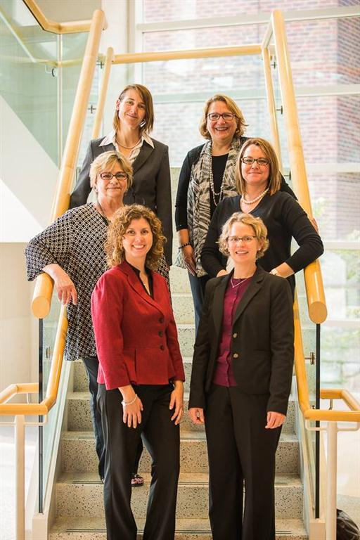 Dr. Borawski with PRCHN senior faculty and senior staff