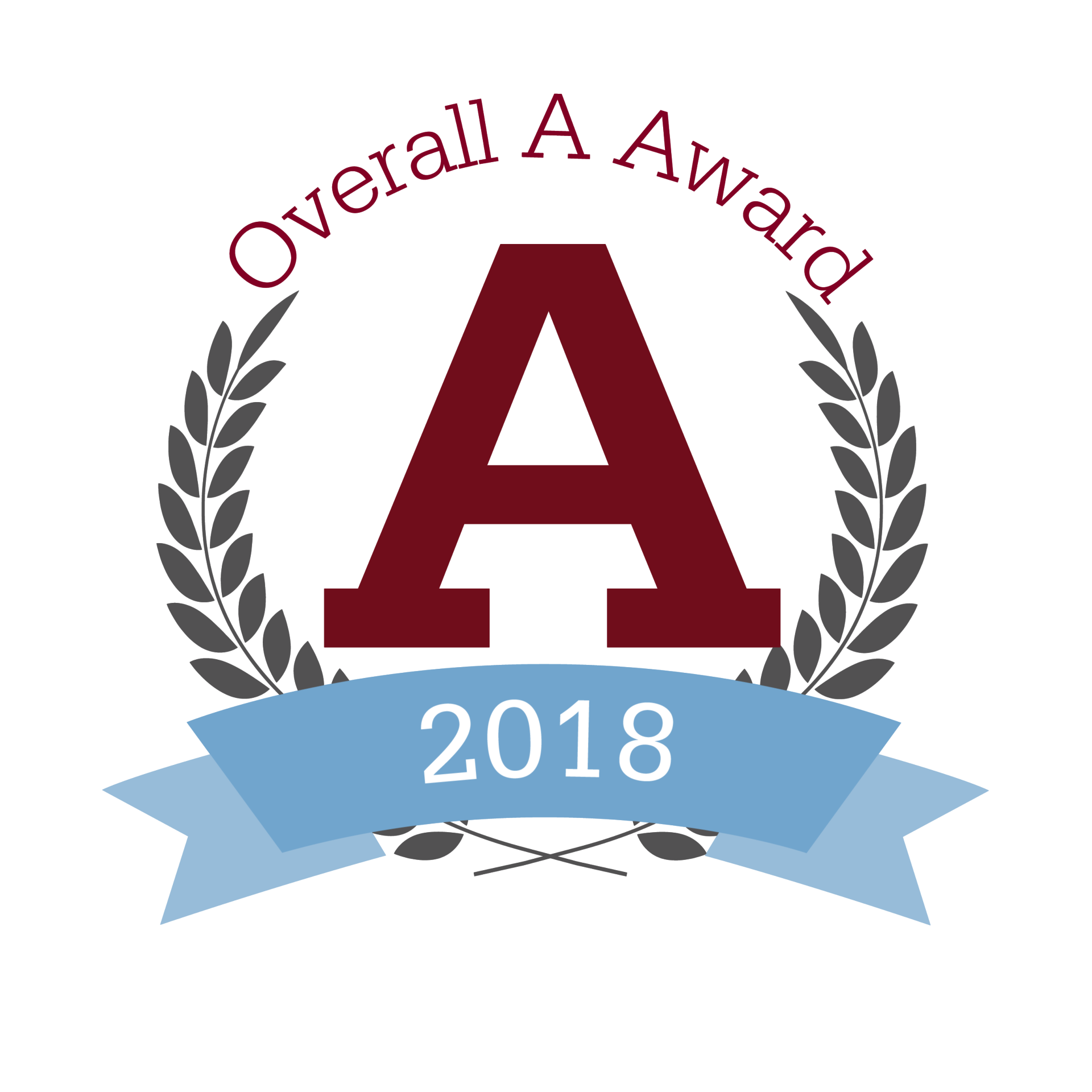 Overall A Award Graphic