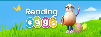 Logo for Reading Eggs