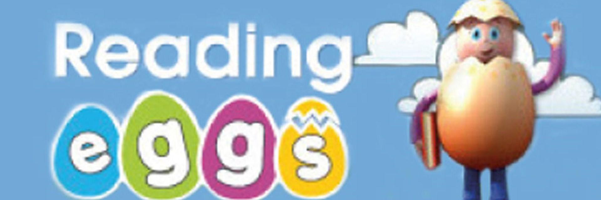 Logo for Reading Eggs