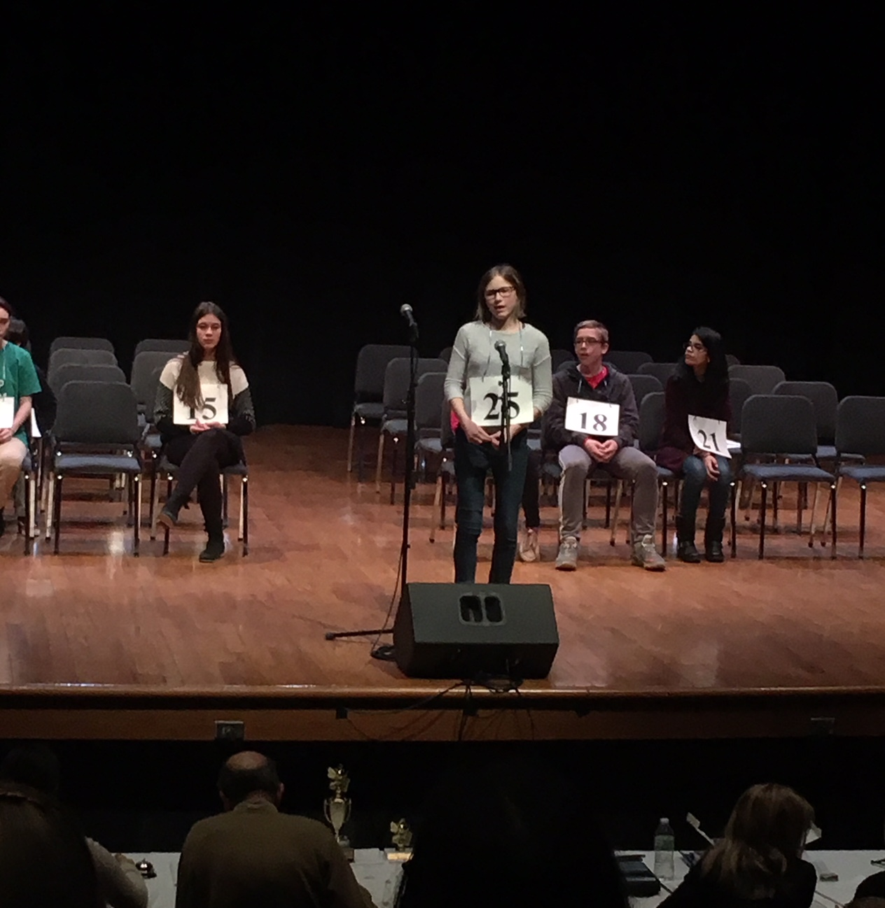 Sarah Kozlowski represented the RRCSD in the Cuyahoga County Scripps National Spelling Bee