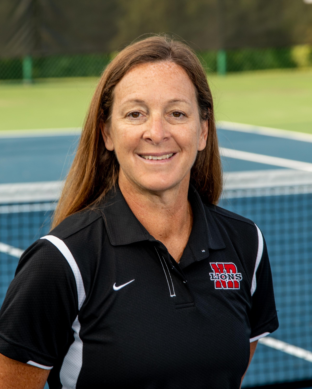 Girls tennis Coach Flamm