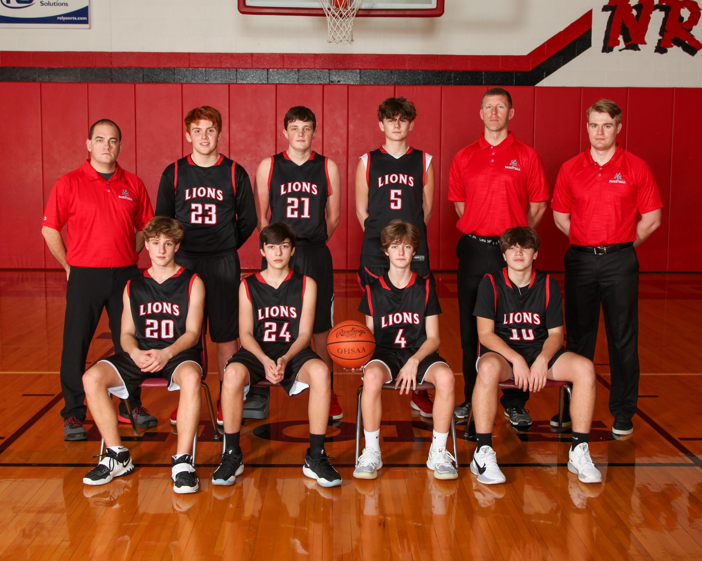 freshman boys basketball
