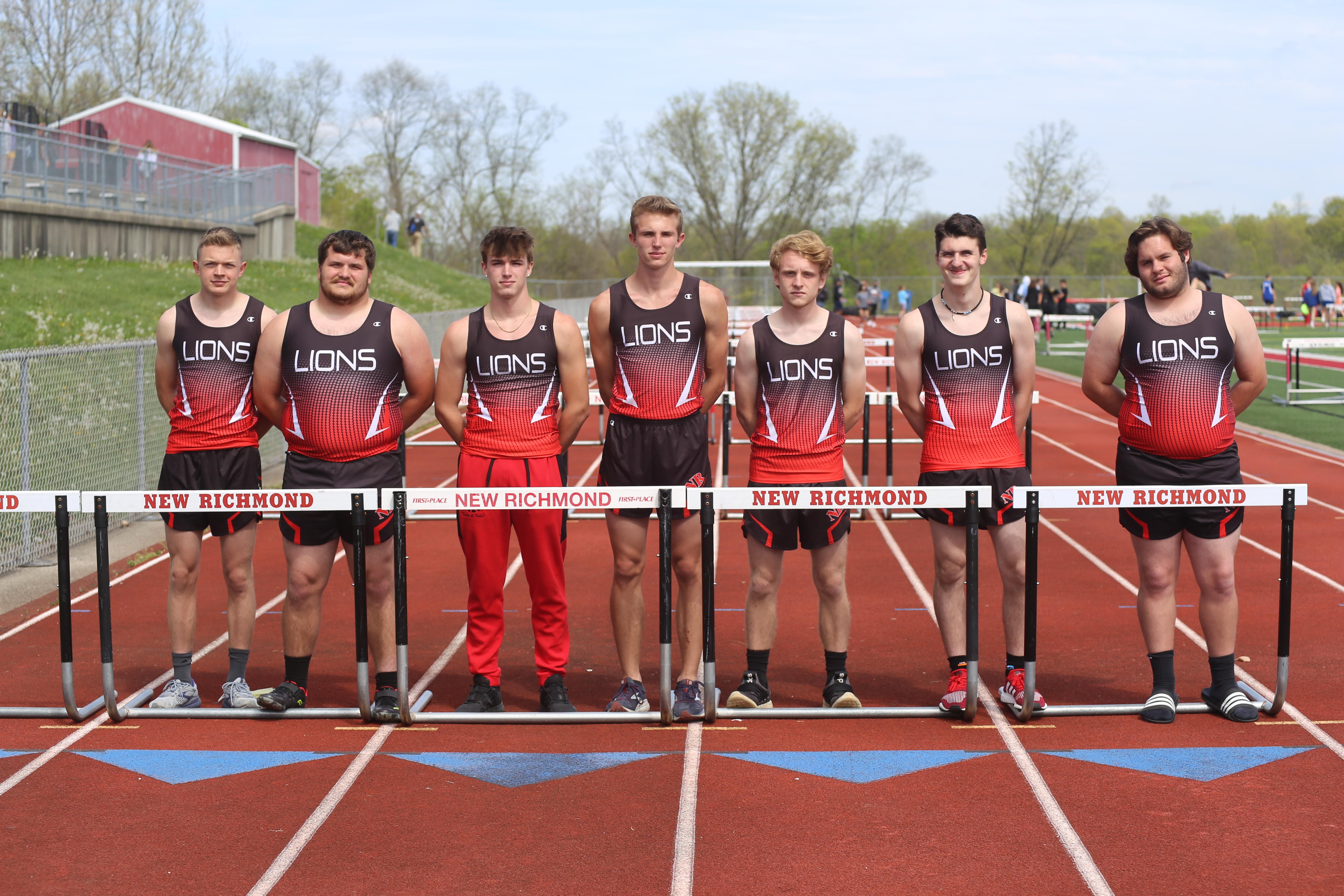 2021 Boys Track Seniors