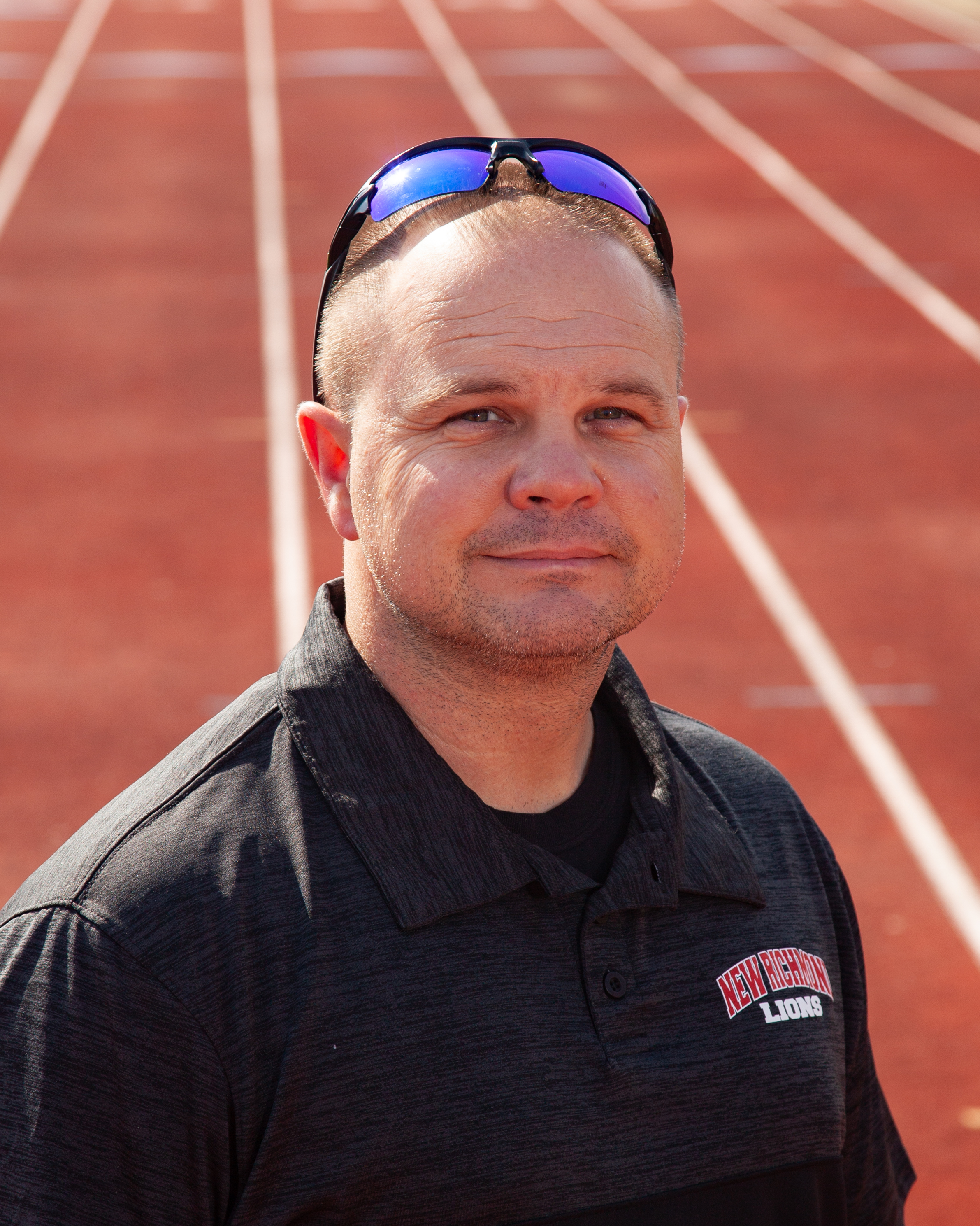 Pole Vault Coach Mark Weitzel