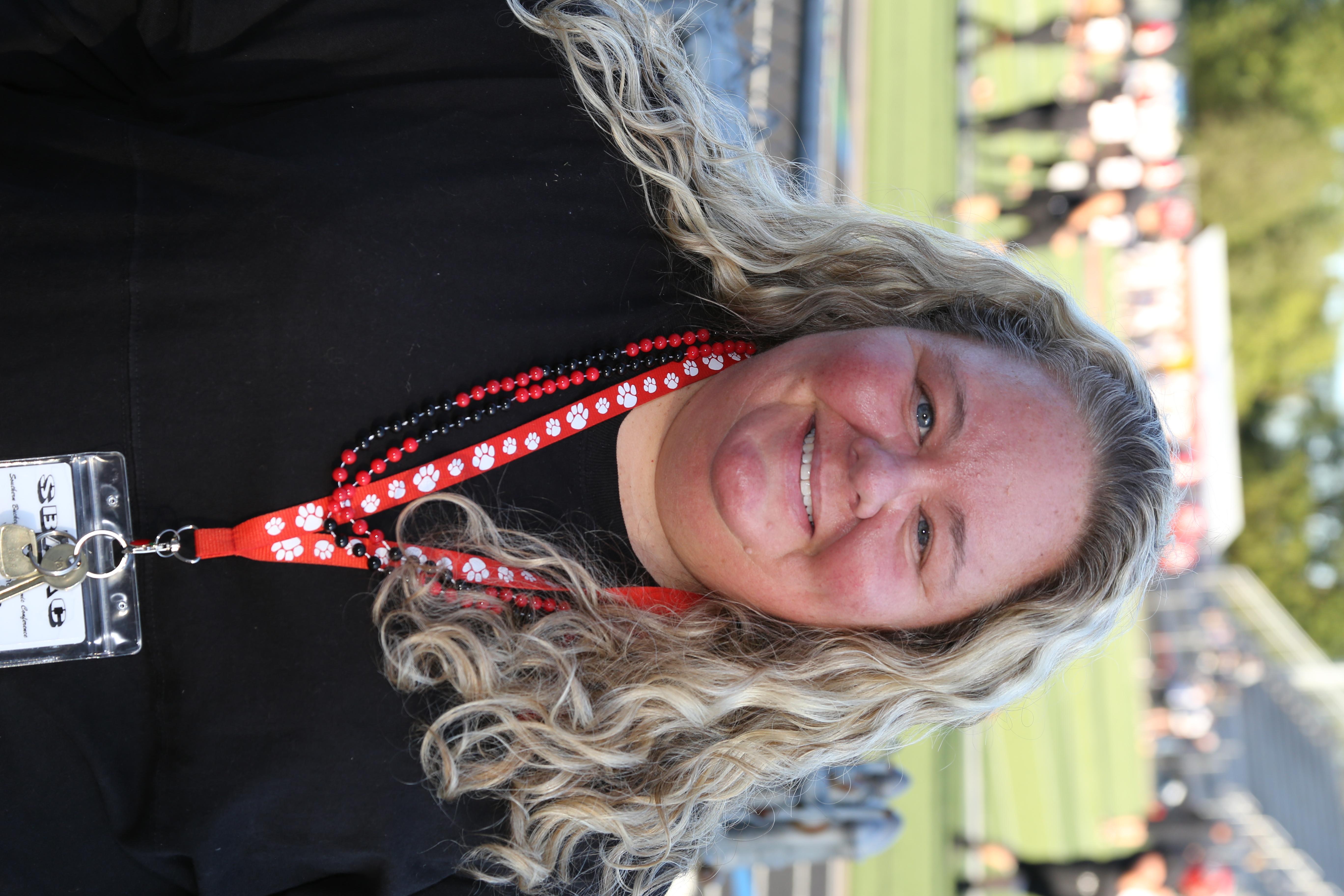 Varsity Cheer Coach Chasity Deavers