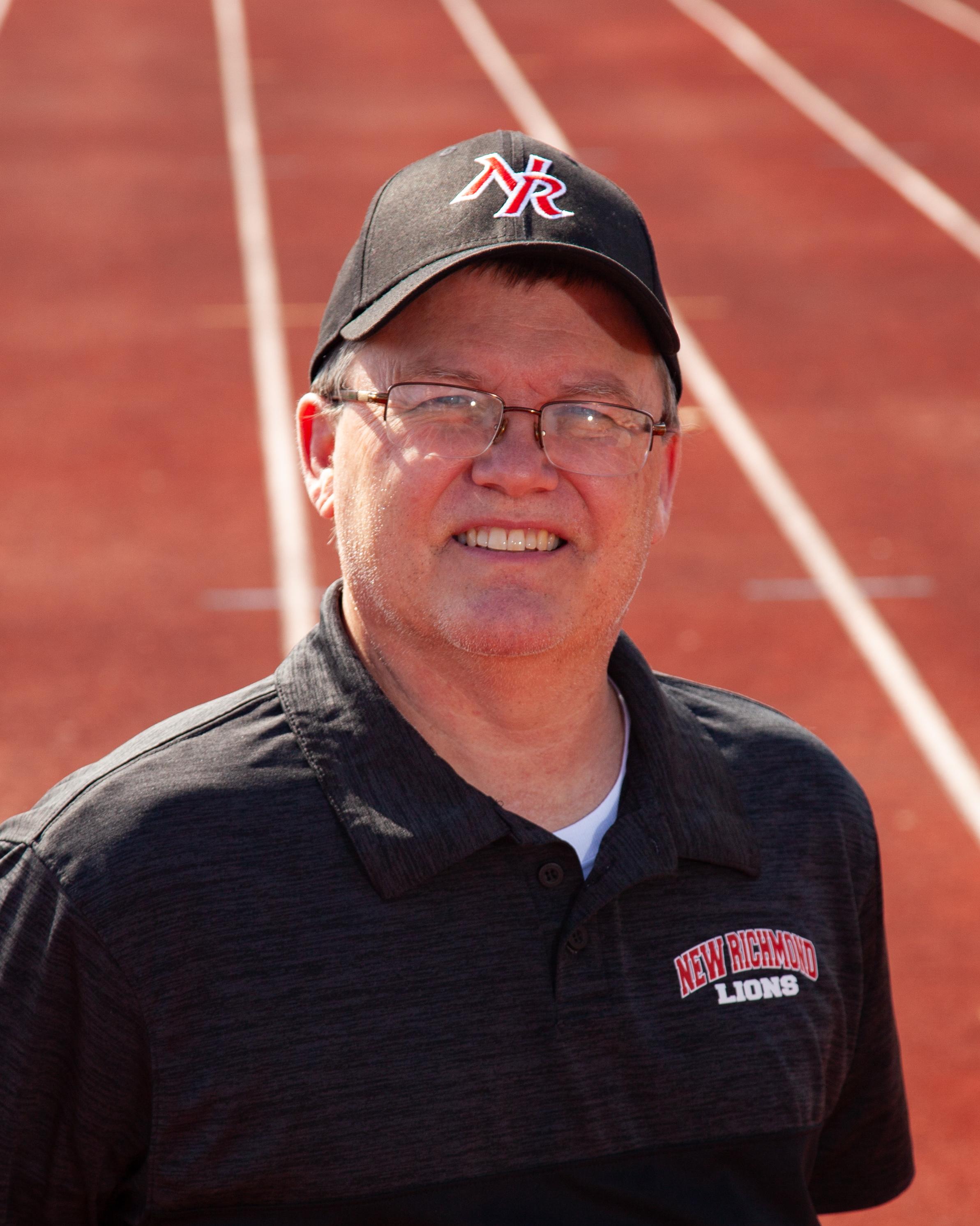 Head Girls Track Coach Doug Smiddy