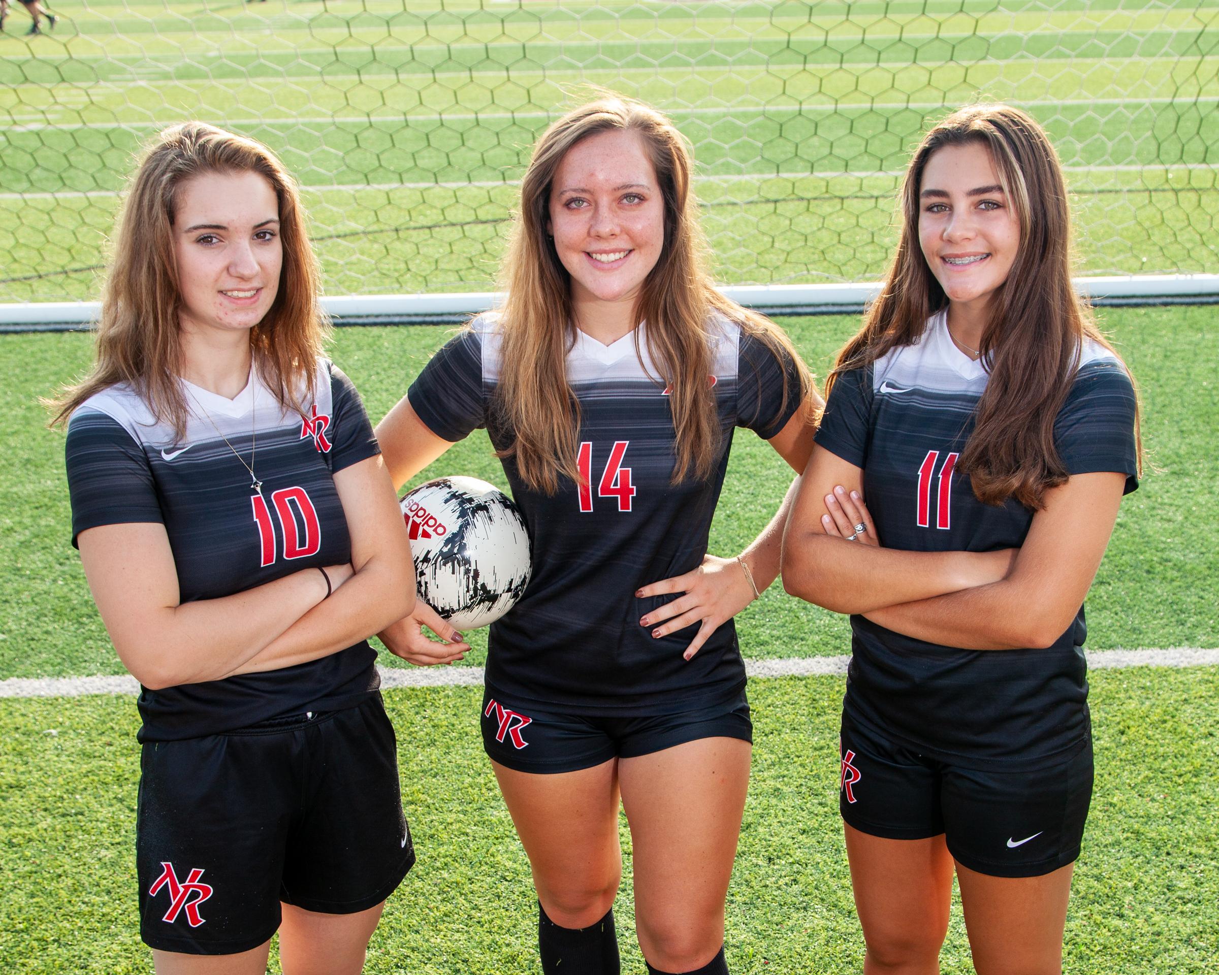 2021 Girls soccer seniors