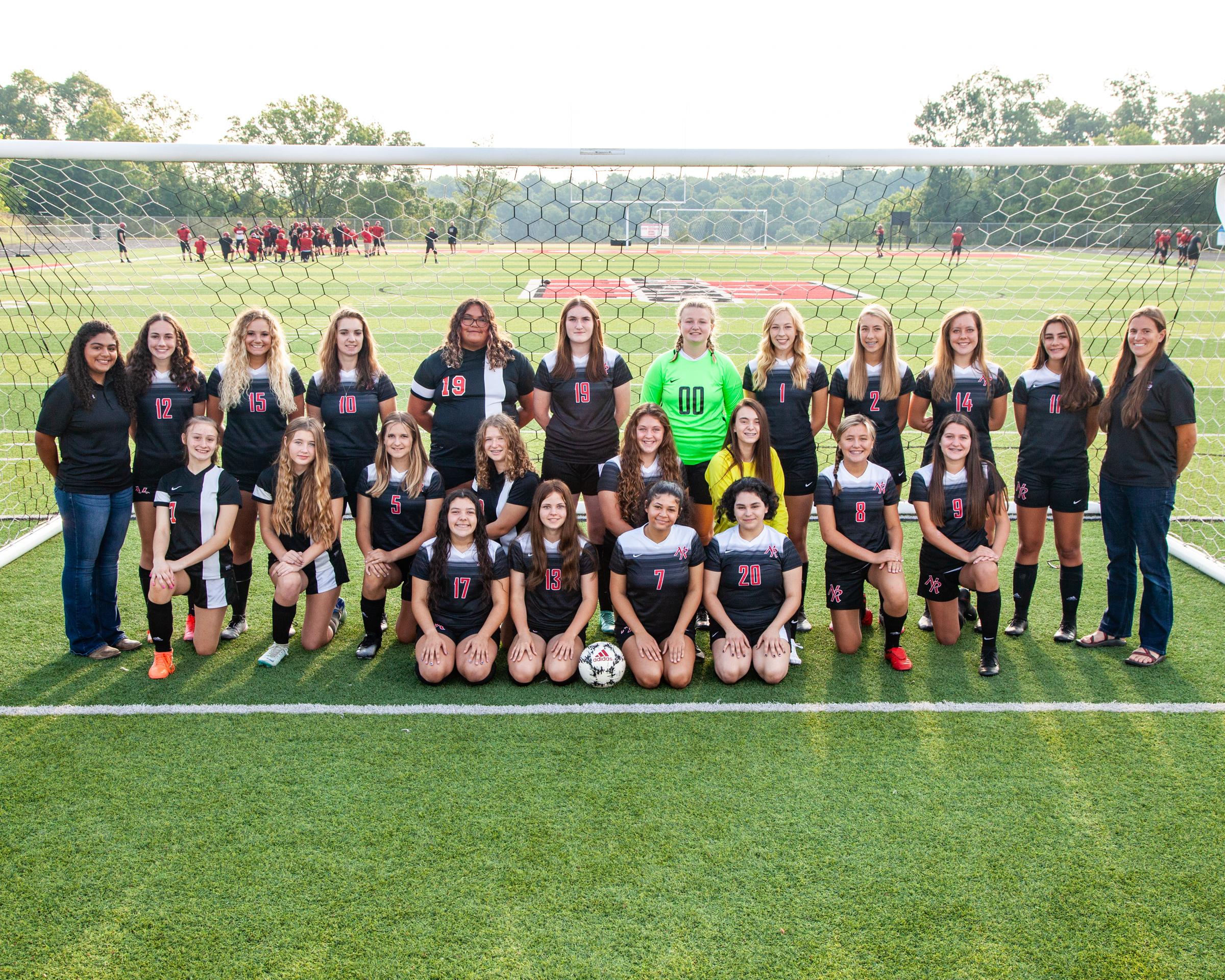 2021 Girls soccer team