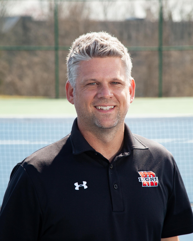 Head Boys Tennis Coach Rylan Shebesta