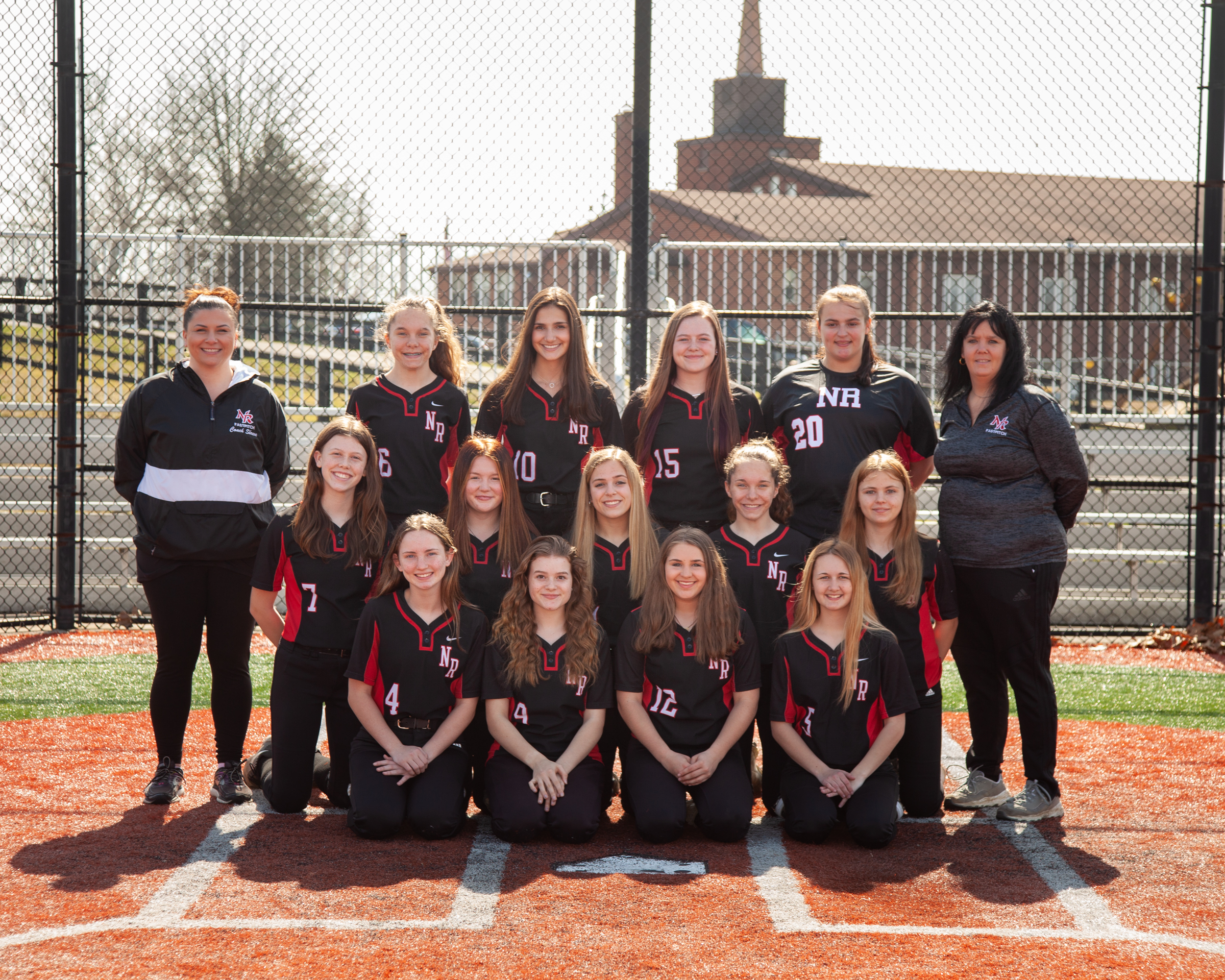 2021 JV Softball Team