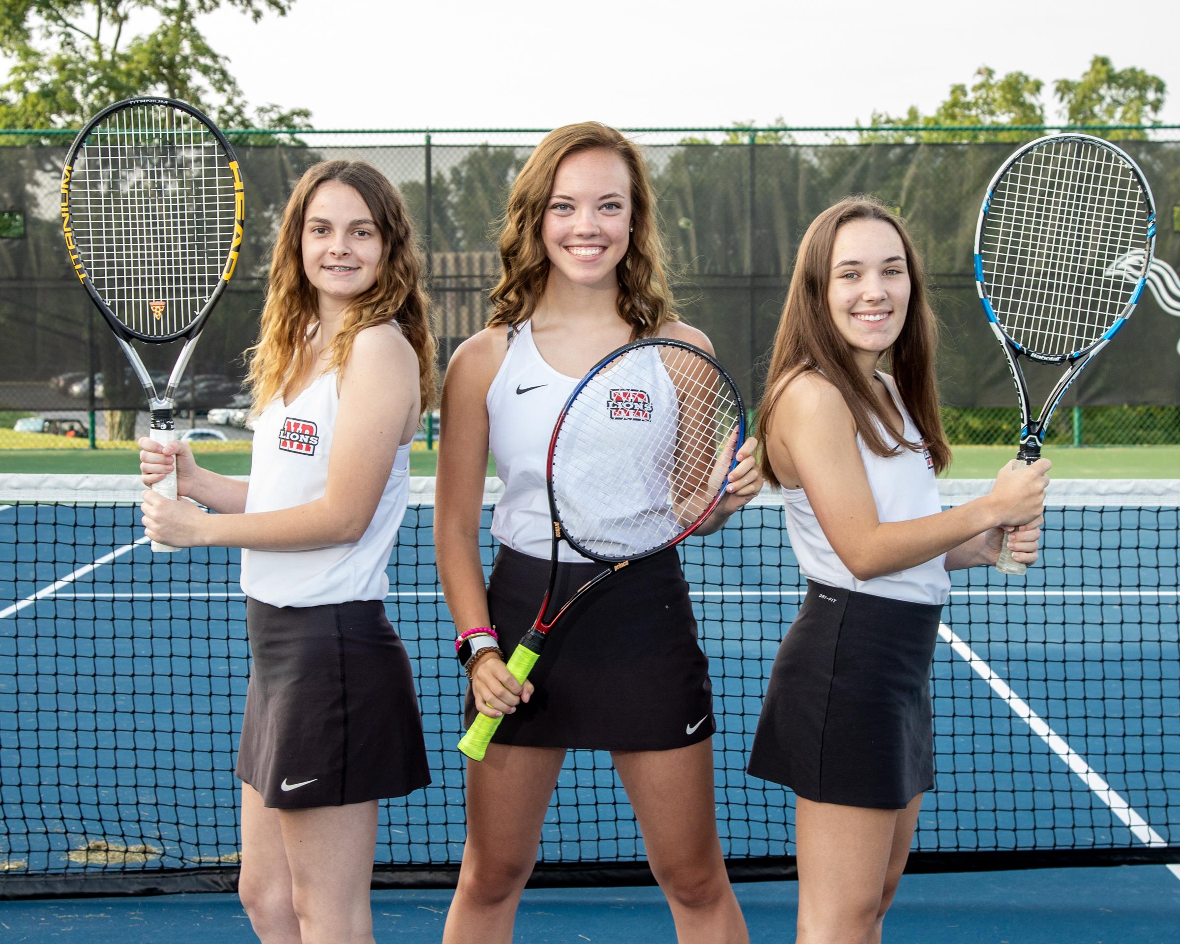 2021 senior girls tennis players