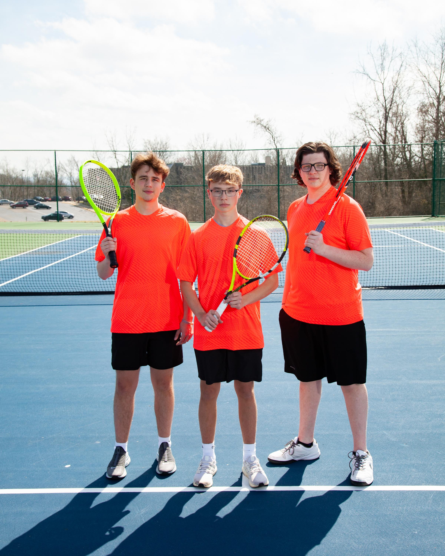 2021 Boys tennis seniors