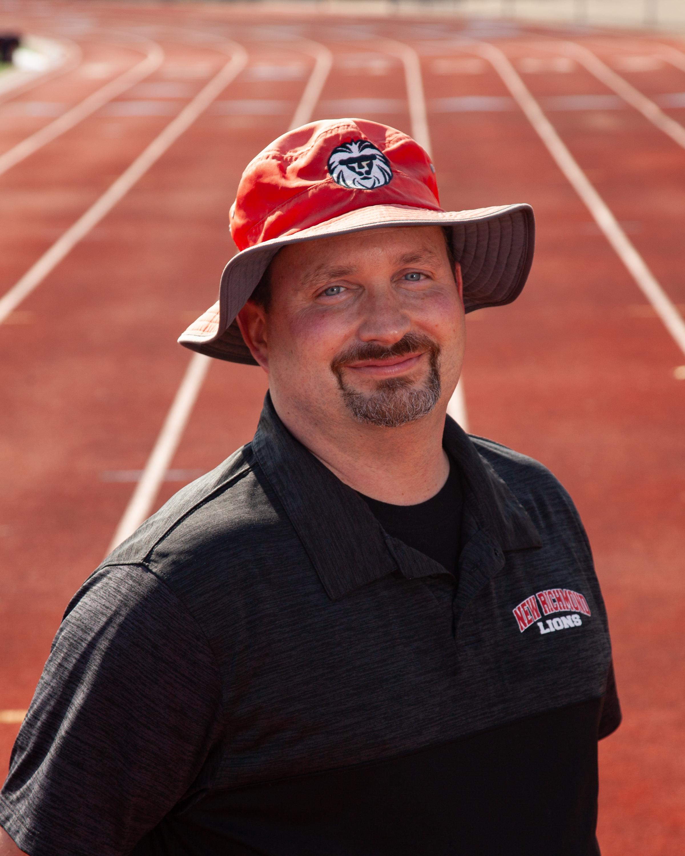 Head Boys Track Coach Toby Lewin